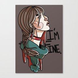 Im Fine Canvas Print