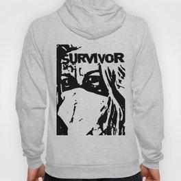 survivor. Hoody