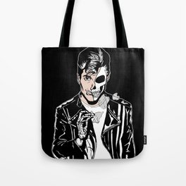 Alex Turner Skull Art by zombieCraig Tote Bag