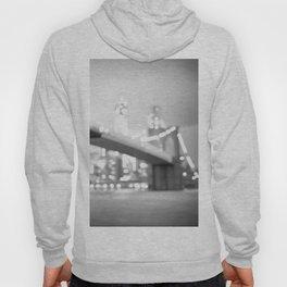 New York City Lights and the Brooklyn Bridge Hoody