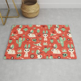 Cryptid Cuties: The Jackalope Rug