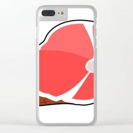 Juicy Ham Clear iPhone Case