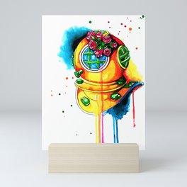 scaphandre Mini Art Print