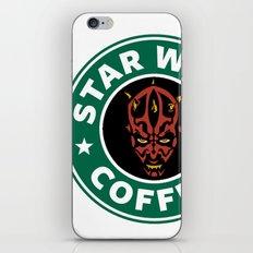 Star Wars Coffee (Darth Maul) iPhone & iPod Skin