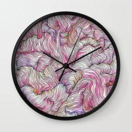 Radiant Pink Wall Clock