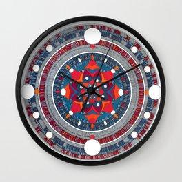 Mandala 007 Wall Clock