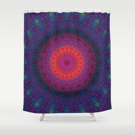 Lacy Mandala Shower Curtain