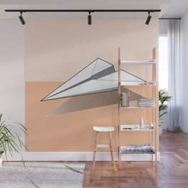 Paper Airplane 3 Wall Mural