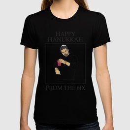 DRAKE HAPPY HANUKKAH FROM THE 6IX T-shirt
