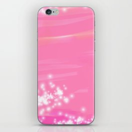 Pink Sparkles iPhone Skin