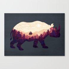 Rhinoscape Canvas Print