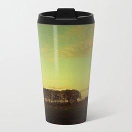 Sepia Fields Metal Travel Mug