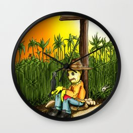 Fearsome Wall Clock