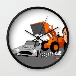 Pretty Car Wall Clock