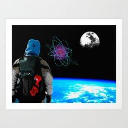 Space Bär.. Art Print