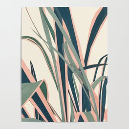 Colorful Plant Poster