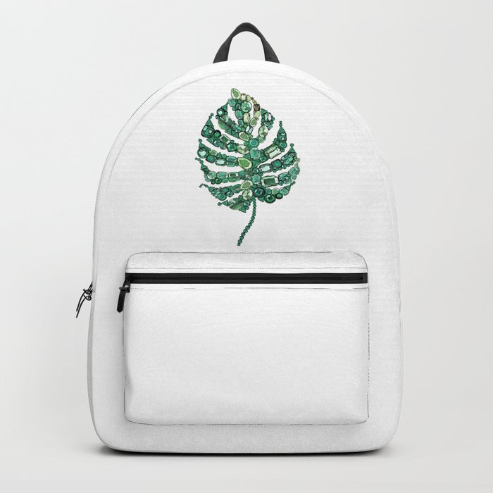 Palm leave Backpack