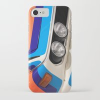 bmw iPhone & iPod Cases featuring BMW CSL by Internal Combustion