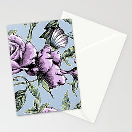 Summer Rose Garden Stationery Cards