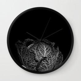 Cauliflower. Wall Clock