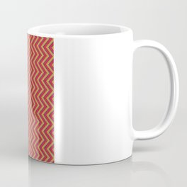 Chevron - Blue|Orange|Red Coffee Mug