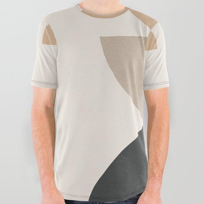 Geometric Modern Art 31 All Over Graphic Tee