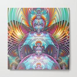 Awaken ^_^ Metal Print