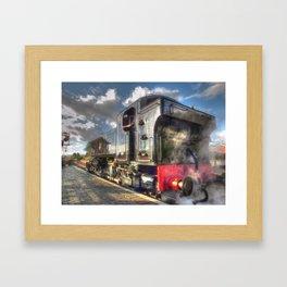 Steam Locomotive 1501 at Bewdley Framed Art Print