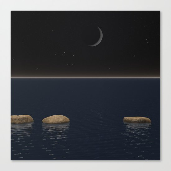 One Giant Leap For Mankind Canvas Print