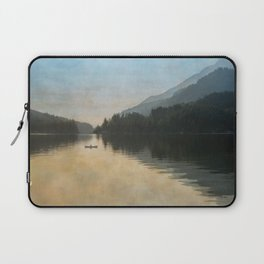 Lake Sutherand Sunset Laptop Sleeve