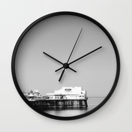North Pier Blackpool on a calm july morning. Wall Clock