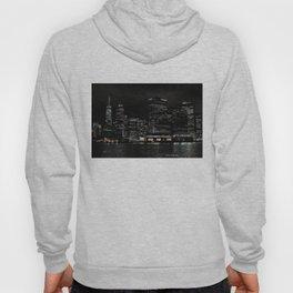 NYC Night Skyline 2015 Hoody