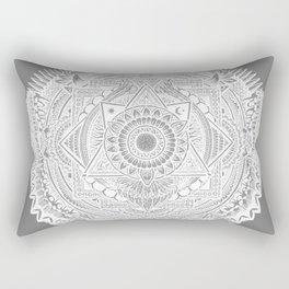Metamorphic (gray) Rectangular Pillow