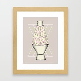 Hot Mess Framed Art Print