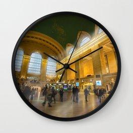 Grand Central Station Sun Wall Clock