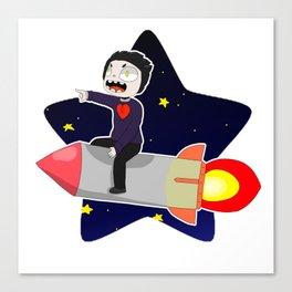 Tienti RocketStar Canvas Print