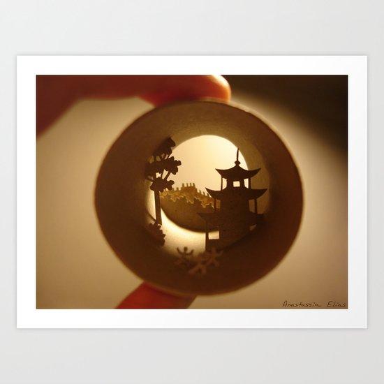 "Roll ""China"" Art Print"