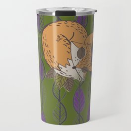 Fall Fox Travel Mug