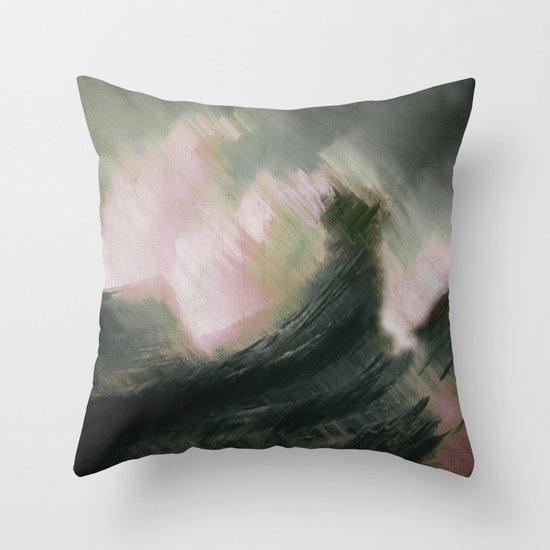 Wolf Larsen Throw Pillow
