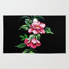 Colors flowers Rug