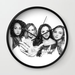 LM Group Drawing Wall Clock