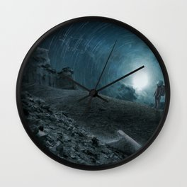 An Inside Meaning Wall Clock