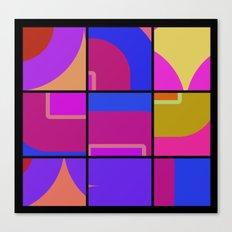 Colorful Squares Canvas Print