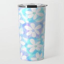 Daisy Blue Travel Mug