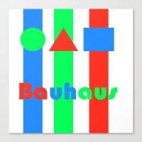 bauhaus Canvas Prints featuring Bauhaus by Retale