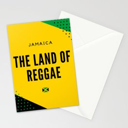 Jamaica the Land of Reggae Stationery Cards