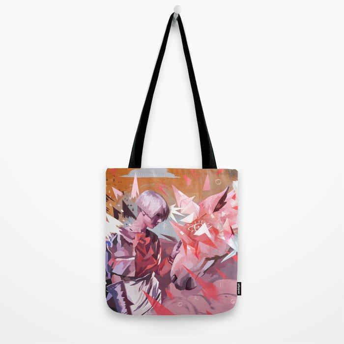 ORIGAMI HORSE Tote Bag