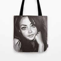 aaliyah Tote Bags featuring 98 v2 by duchess365