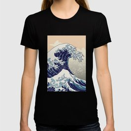 Digital copy of the Great wave T-shirt