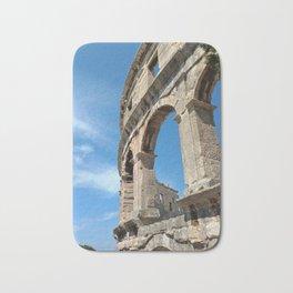 pula croatia ancient arena amphitheatre high Bath Mat